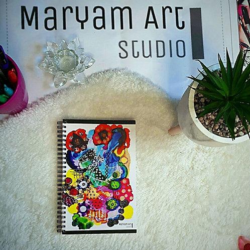 Colour Crush Note Book