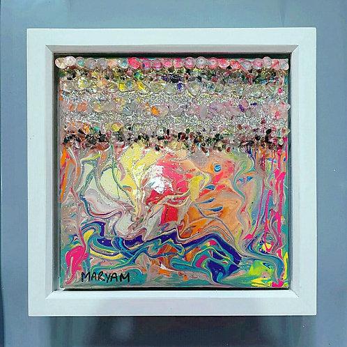 Unicorn resin artwork