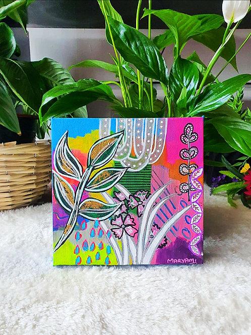 Spread Joy Acrylic on Canvas                                      🎈Available 🎈