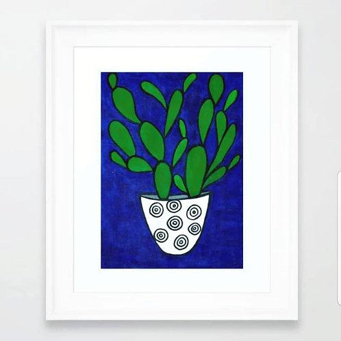 Cactus Love ... Acrylic Paint On Canvas