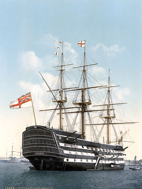 HMS Victory Pen Set with Certificate