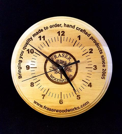 Customizable Wooden Clocks