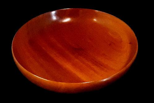 African Mahogany Bowl