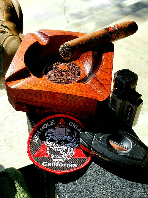 Walnut Cigar Ash Tray