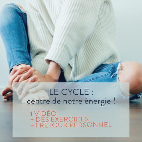 LE CYCLE : utiliser la bonne énergie au bon moment !