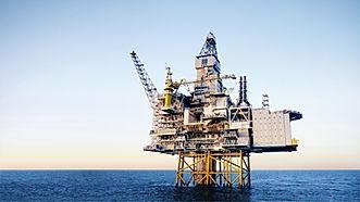 Öl Plattform