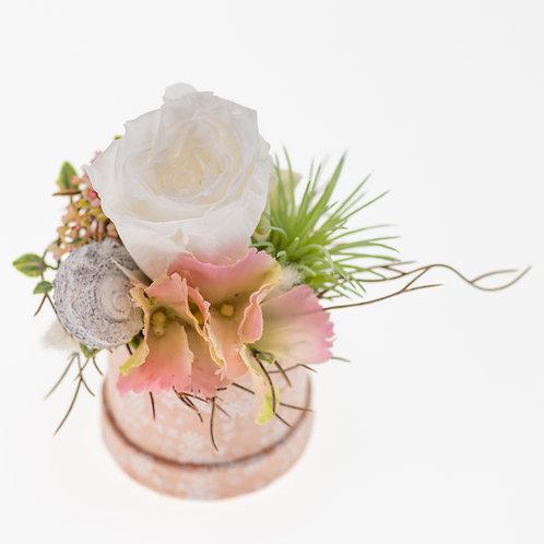 Flowerbox Rosa Small