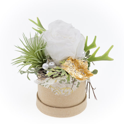 Flowerbox Weiß Small