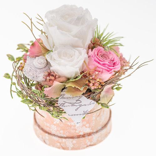 Flowerbox Rosa Medium