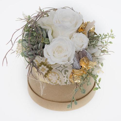 Flowerbox Weiß Large