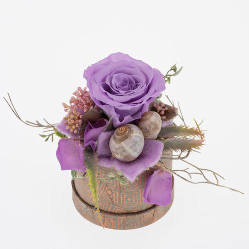 Flowerbox Lavendel Small