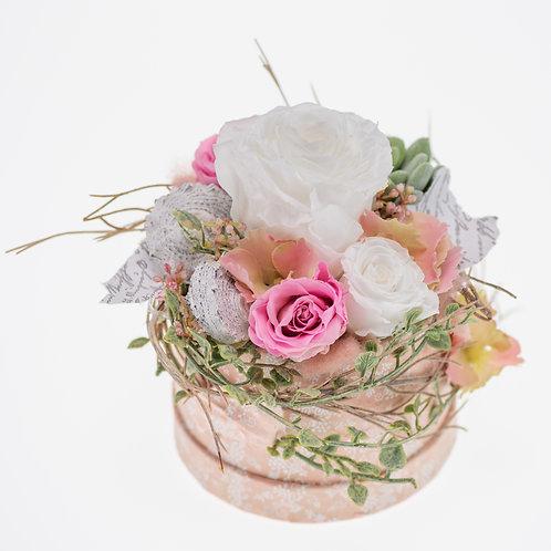 Flowerbox Rosa Large