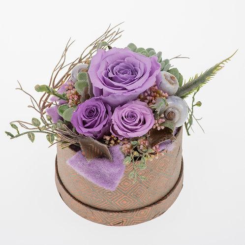 Flowerbox Lavendel Large