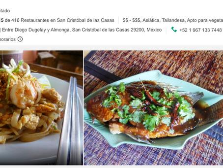 Los 5 mejores restaurantes (Ocultos para los turistas) en #sancris #chiapas