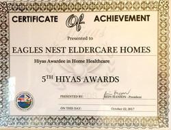 Home Healthcare Achievement Award