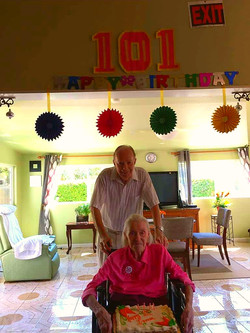Irma's 101st Birthday!