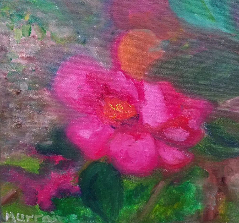 Spring Time Flower 8x10 Oil on Canvas