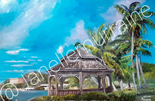 Favorite Place in Paradise, 24x36 oil on canvas