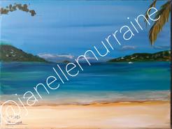 Magen's Bay, 12x16 acrylic on canvas