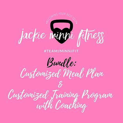 Custom Meal Plan/Training Coaching Bundle