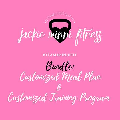 Custom Meal Plan/Training Program Bundle