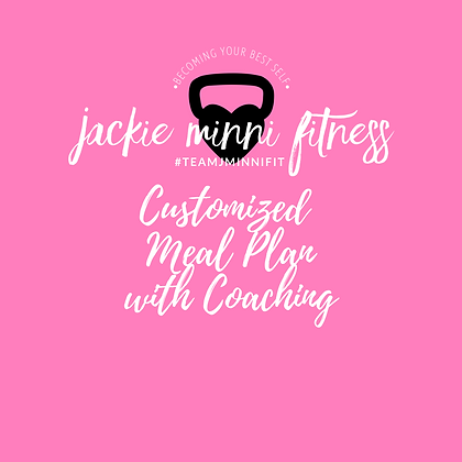 Customized Meal Plan with Coaching