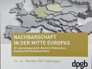 29. Jahrestagung der DPG Bundesverband
