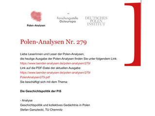 Polen-Analysen Nr. 279 erschienen