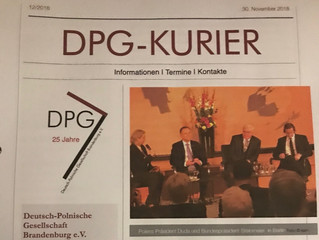 DPG-Kurier 12/2018 veröffentlicht