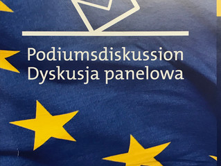 Podiumsdiskussion zu Europa