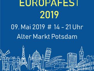 DPG beim Europafest in Potsdam