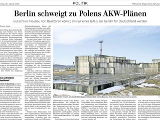 Streit um Polens Planung für neue AKWs