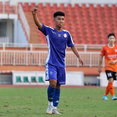 City's Nguyễn Trung Thành Gets U19 Call
