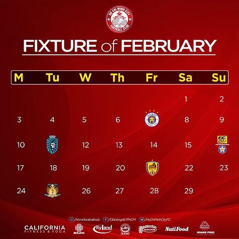 Citys Fixtures For February.jpg