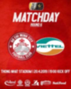 Matchday v Viettel