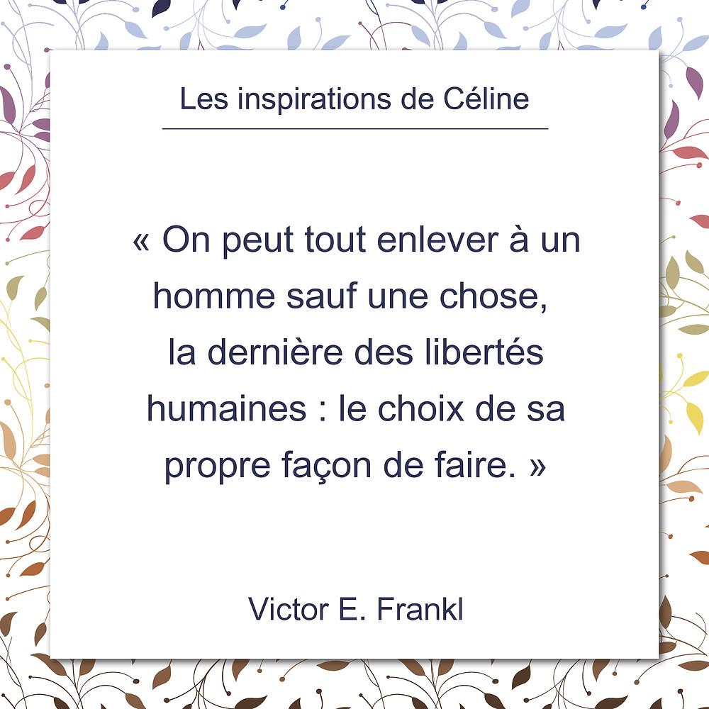 Les inspirations de Céline Kempf, citation d'Aristote, le mouvement initial est en soi.