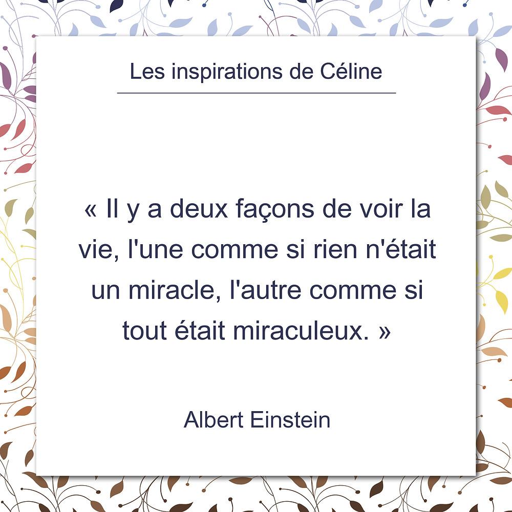Les inspirations de Céline Kempf, citation de Jacques Salomé, au sujet des possibles en amour