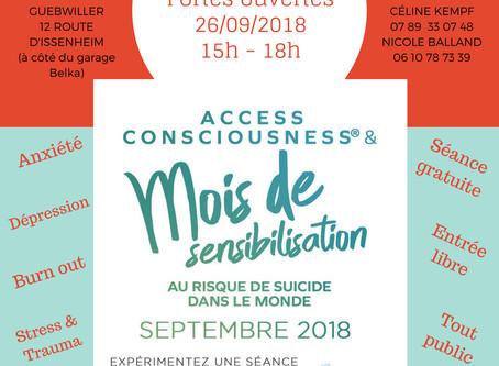 Evénement prévention suicide 2018
