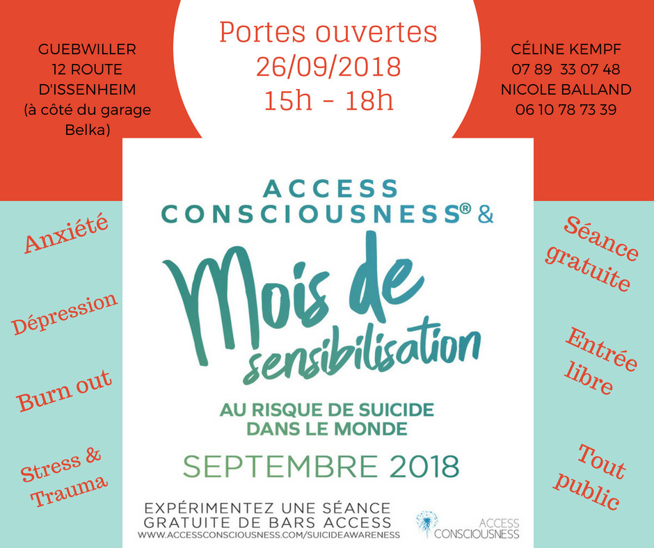 Céline KEMPF_Prévention suicide 2018_ACCESS Bars