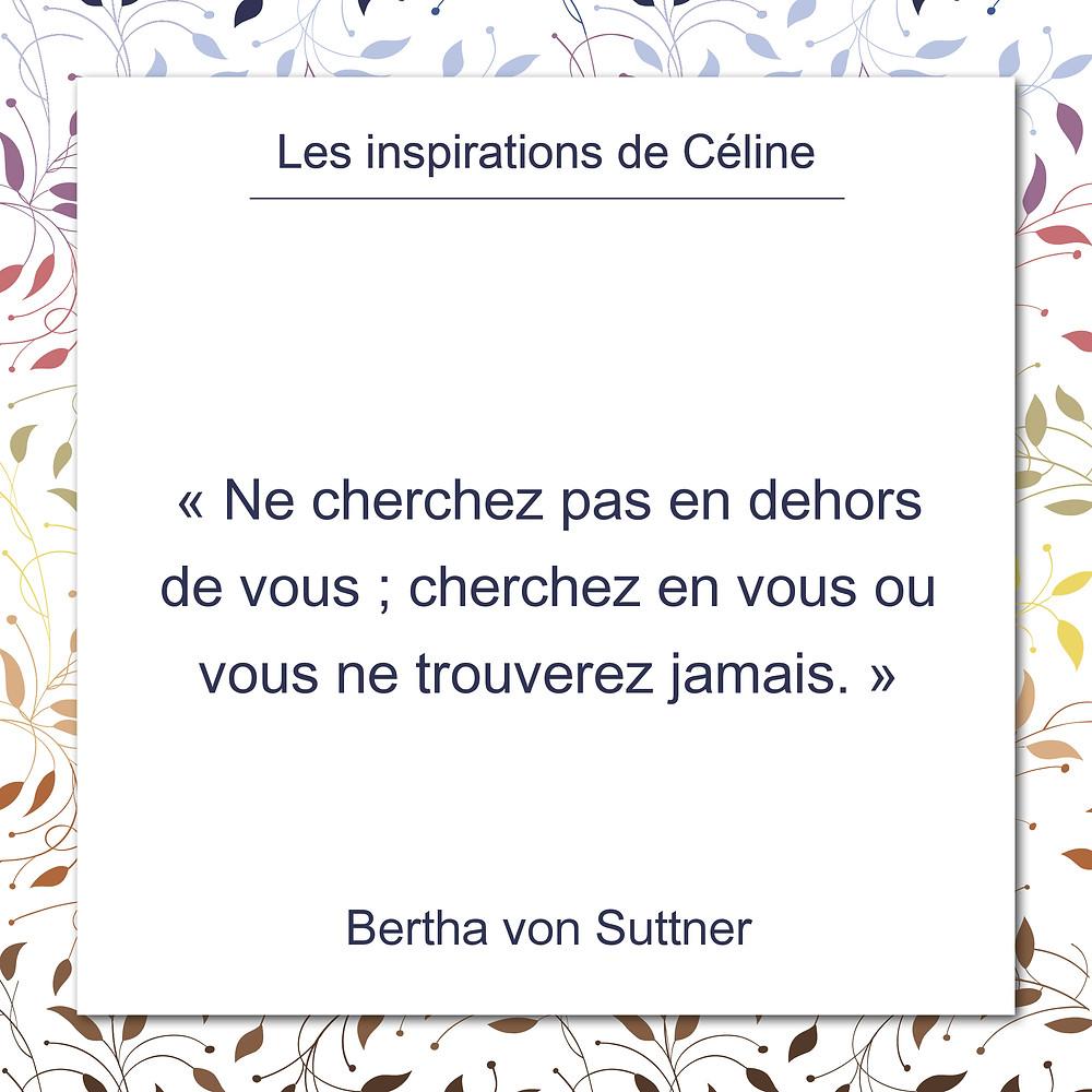 Les inspirations de Céline Kempf, citation de Wayne Sotile, le temps de tout faire