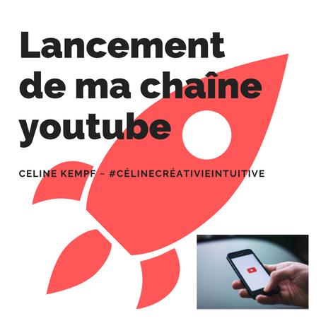 #CélineCréativeIntuitive se lance sur youtube !