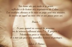 Livre d'Or Céline Kempf