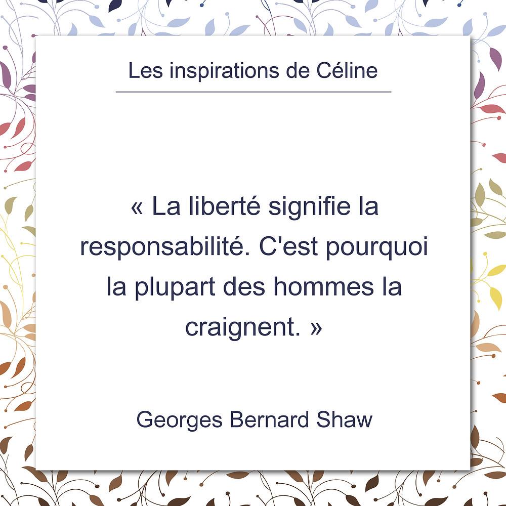 Les inspirations de Céline Kempf, citation d'Agnès Ledig au sujet de l'amour sans respect