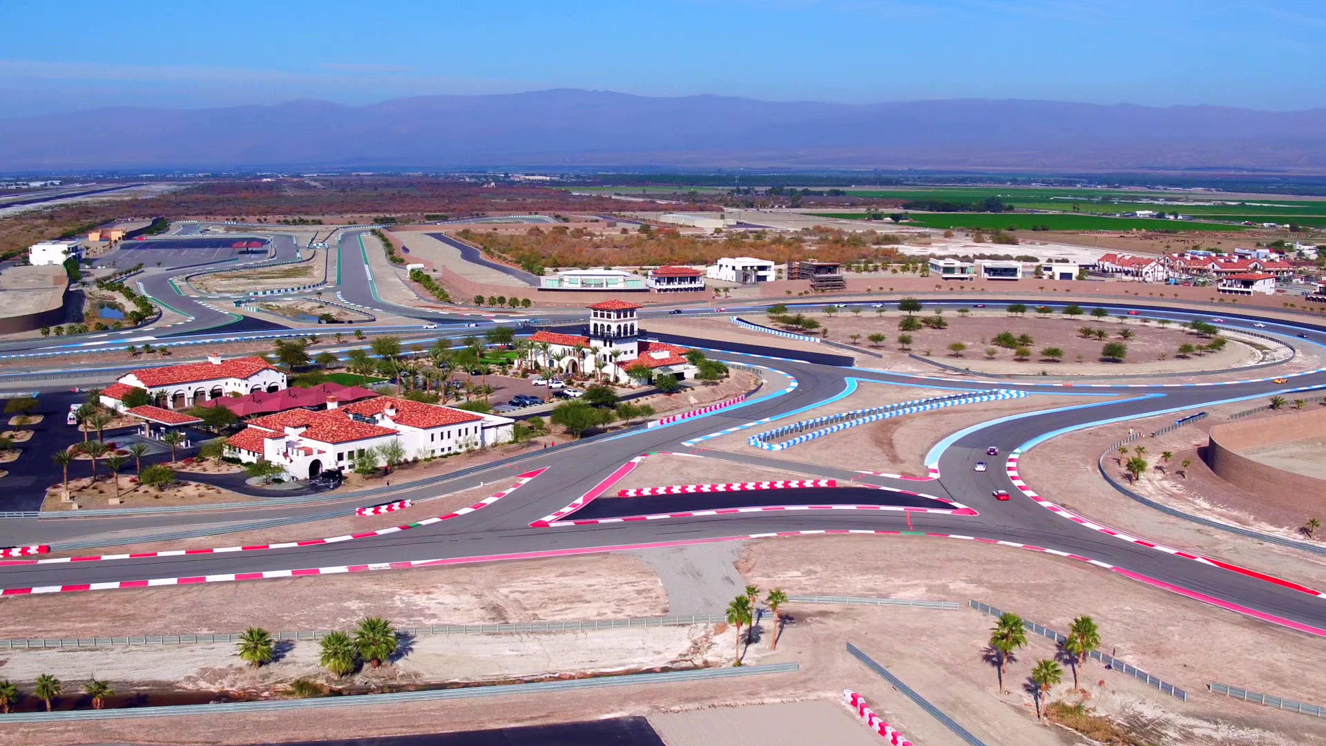 With over five miles of racetrack, three distinguished circuits and 20 configurations, racing at the Thermal Club is an unmatched experience.