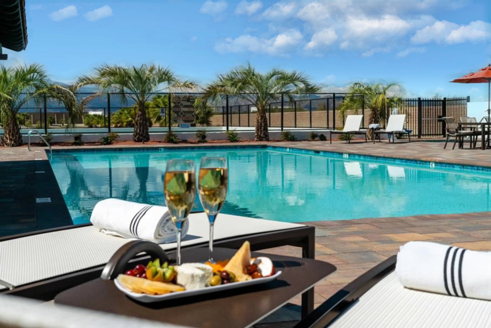 Enjoy refreshments poolside at our adult or kid pools.