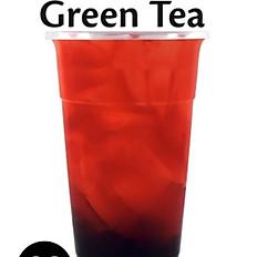 1.strawberry green tea