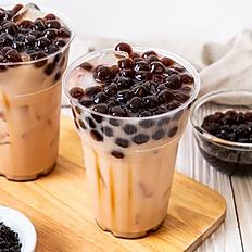 1.Bubble milk black tea