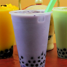 3.Taro milk green tea