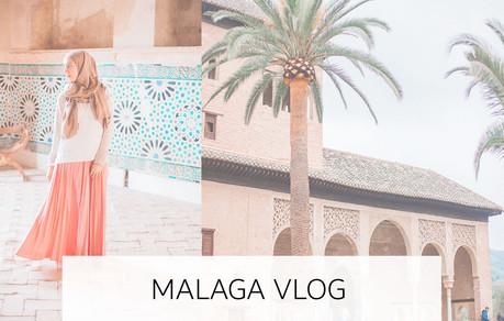 Malaga vlog | Geen auto | Regen in Al Hambra | Photo shoot