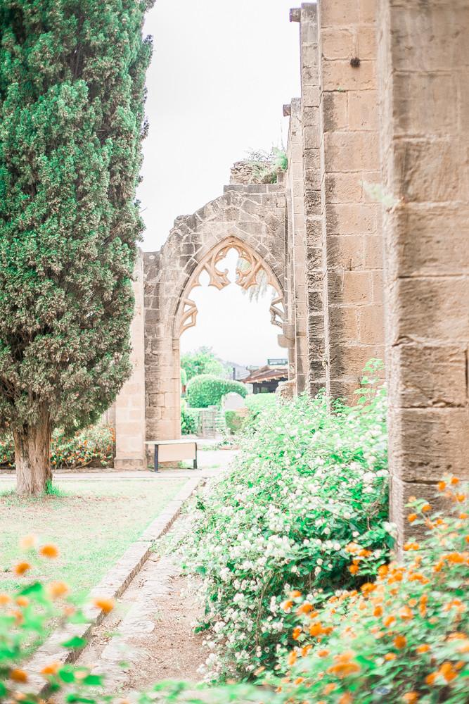 bellapais monastery girne north cyprus